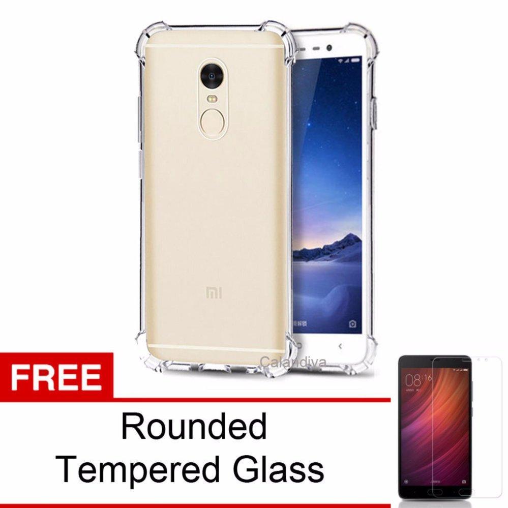 Calandiva Shockproof Tpu Ultrathin Case Untuk Xiaomi Redmi Note 4 Nillkin Frosted Hard Mediatek Hitam Spec