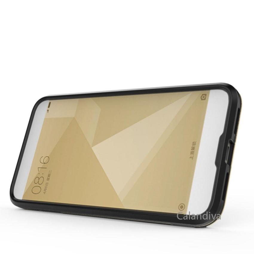 ... Hitam + Rounded Tempered Glass Terbaru klik. Source · Calandiva Dragon Shockproof Hybrid Case for Xiaomi Redmi 4X / Redmi 4X Prime 5.0 inch -
