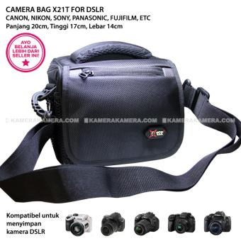 CAMERA BAG X21T - ZAMRUD 101 FOR DSLR CANON, NIKON, SONY, PANASONIC, FUJIFILM, ETC