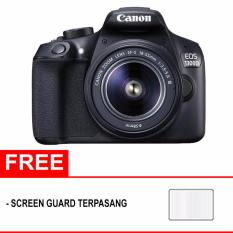 Canon EOS 1300D Kit EF-S 18-55 III - 18MP - Hitam