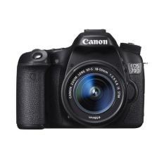 Canon EOS 70D Kit 18-55mm IS STM Wifi - Hitam