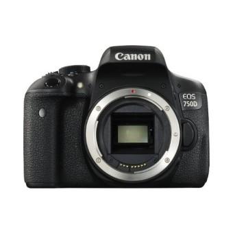 Canon EOS 750D Wifi Body Only - 24 MP - Hitam