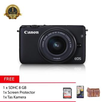 Canon EOS M10 Kit 15-45mm + Memory 8GB + Screen Protector