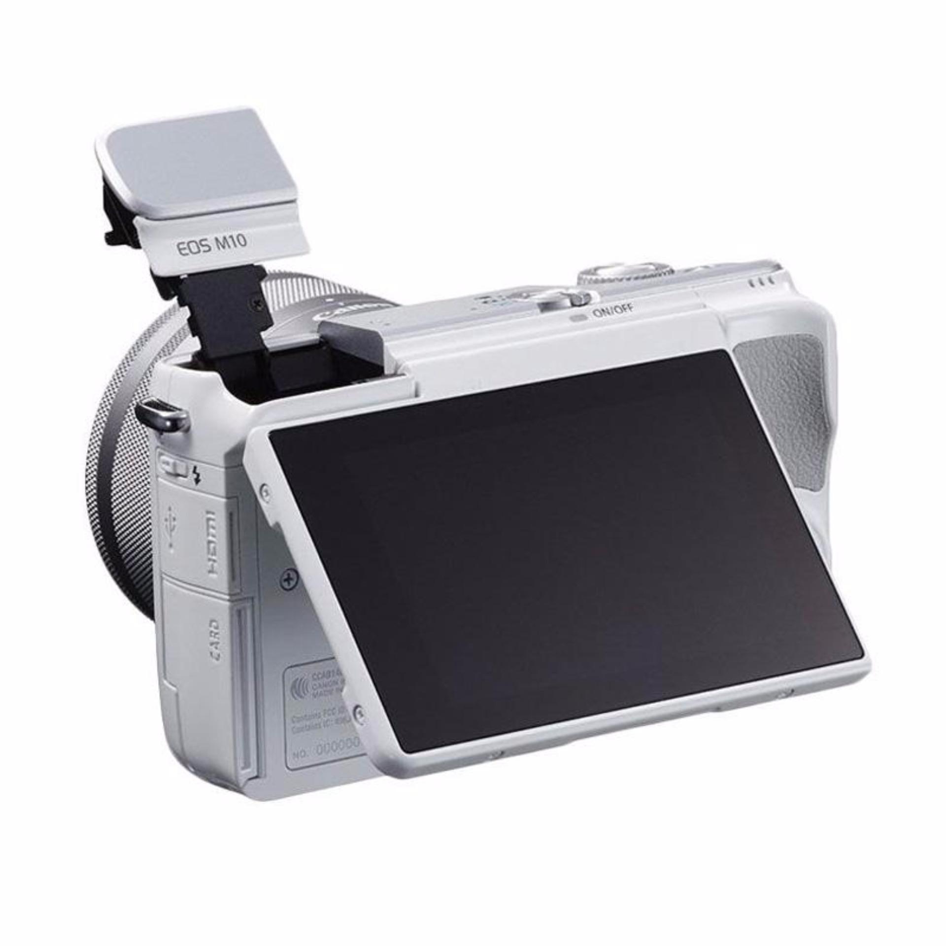 Perbandingan Harga Canon Eos M10 Kit Ef M 15 45mm Is Stm Kamera 18 Mp Hitam Mirrorless White