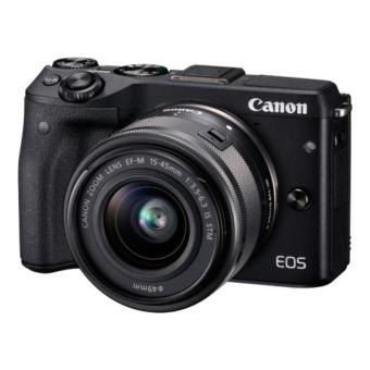 Canon - EOS M3 EF-M15-45 IS STM - Hitam