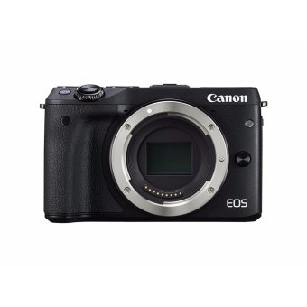 Canon EOS M3 Mirrorless Camera Body - Wi-Fi Enabled - [Black] - intl