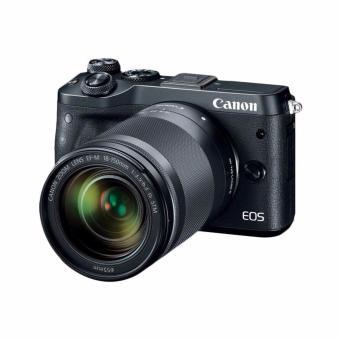 Canon EOS M6 Kit 18-150mm - Black -Kamera Mirrorless