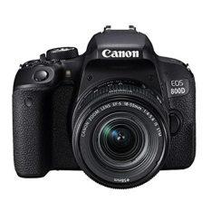 Canon EOS800DWiFi+Lens18‐55mm - Hitam