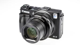 Canon PowerShot G1 Mark II Digital Camera - 12.8 MP - Hitam