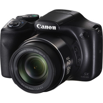 Canon PowerShot SX540 HS Digital Camera - 20 MP - Hitam