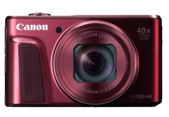 Canon PowerShot SX720 HS - 20.3MP - Red