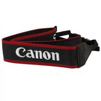 Canon Strap Hitam Bordir - Canon- EOS Digital