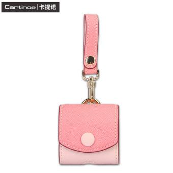 Beli Cartinoe headset kotak Apple ID nirkabel Bluetooth headset tas kulit lengan pelindung Terpercaya