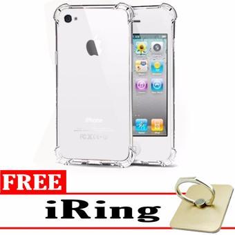 Case Anti Shock / Anti Crack Elegant Softcase for Apple iPhone 4 /4S / 4G