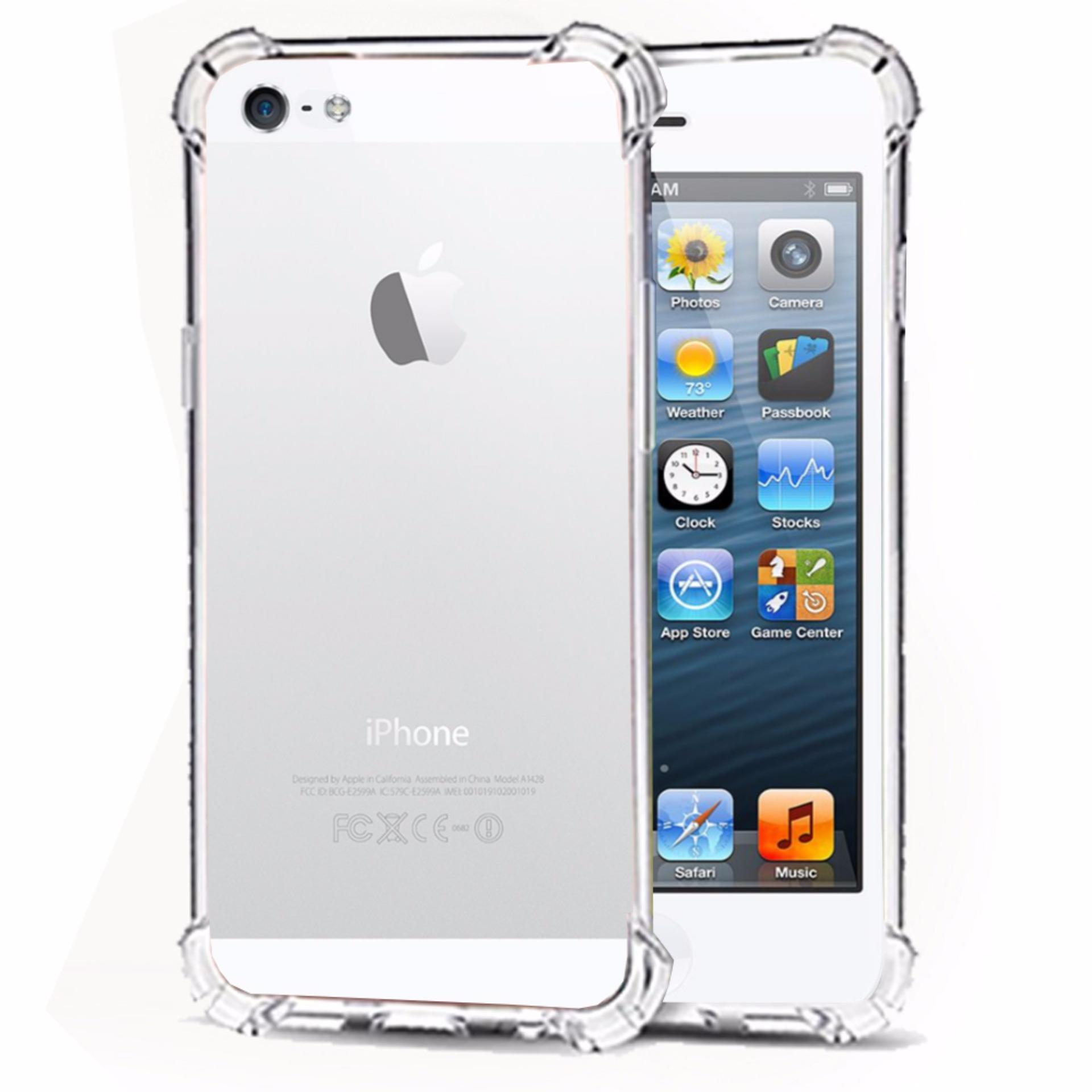 Case Anti Shock Crack Elegant Softcase For Apple Iphone 5 .