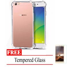 Tempered Glass Screen Protector Anti Gores Kaca OPPO F1s A59 - Clear. Source · Case