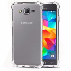 Case Anti Shock / Anti Crack Elegant Softcase  for Samsung Galaxy Grand Prime (G530) - White Clear