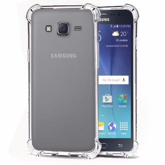 Case Anti Shock / Anti Crack Elegant Softcase for Samsung Galaxy J7 2015 (J700) - White Clear