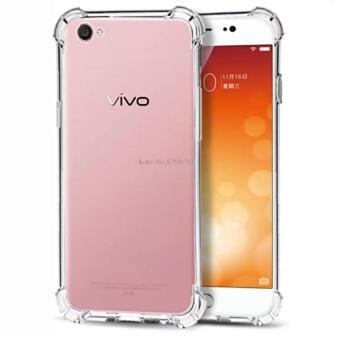 Case Anti Shock / Anti Crack Elegant Softcase for Vivo V5 (Y67) - White Clear