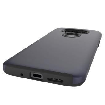 Harga Case for LG G5 TPU + PC Hybrid Brushed Texture Cover (Dark Blue)