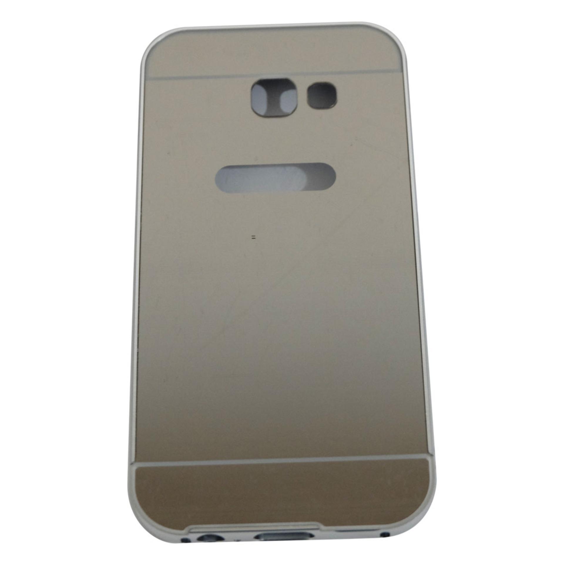 Case For Samsung Galaxy A5 2017 A520 Bumper Sleding Mirror BumperBesi Kaca