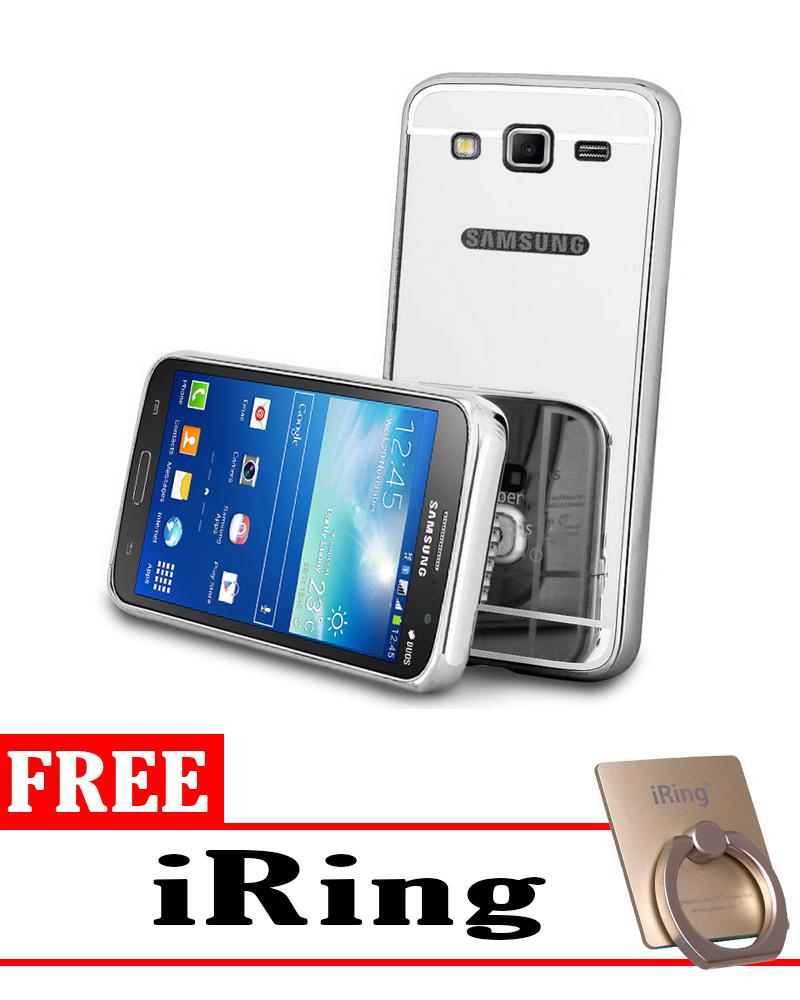 ... Case for Samsung Galaxy J5 2015 (J500) Aluminium Bumper With Mirror Backdoor Slide ...