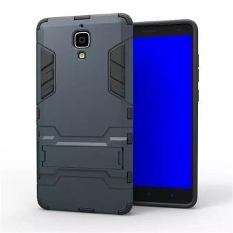 Case Iron Man for Xiaomi Mi4w Robot Transformer Ironman Limited -Biru Dongker .