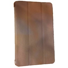 Case Lenovo S5000 Smartcover / Leather Case / Book Cover / Sarung Tablet / Dompet Tablet - Cokelat