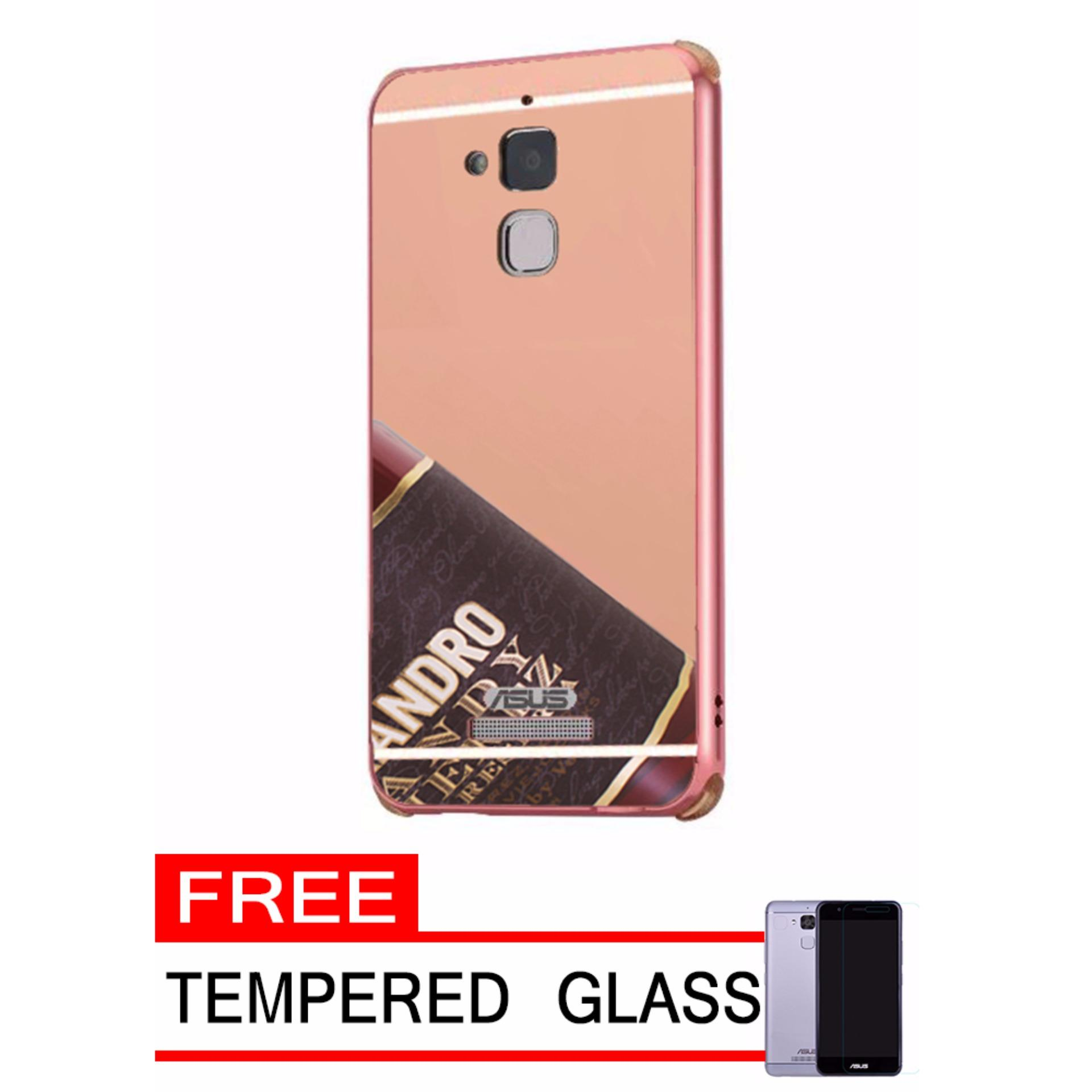 Daftar Harga Case Metal For Asus Zenfone 3 Max Zc520tl Aluminium Alumunium Bumper 2 55 With Mirror Backdoor Slide Rose