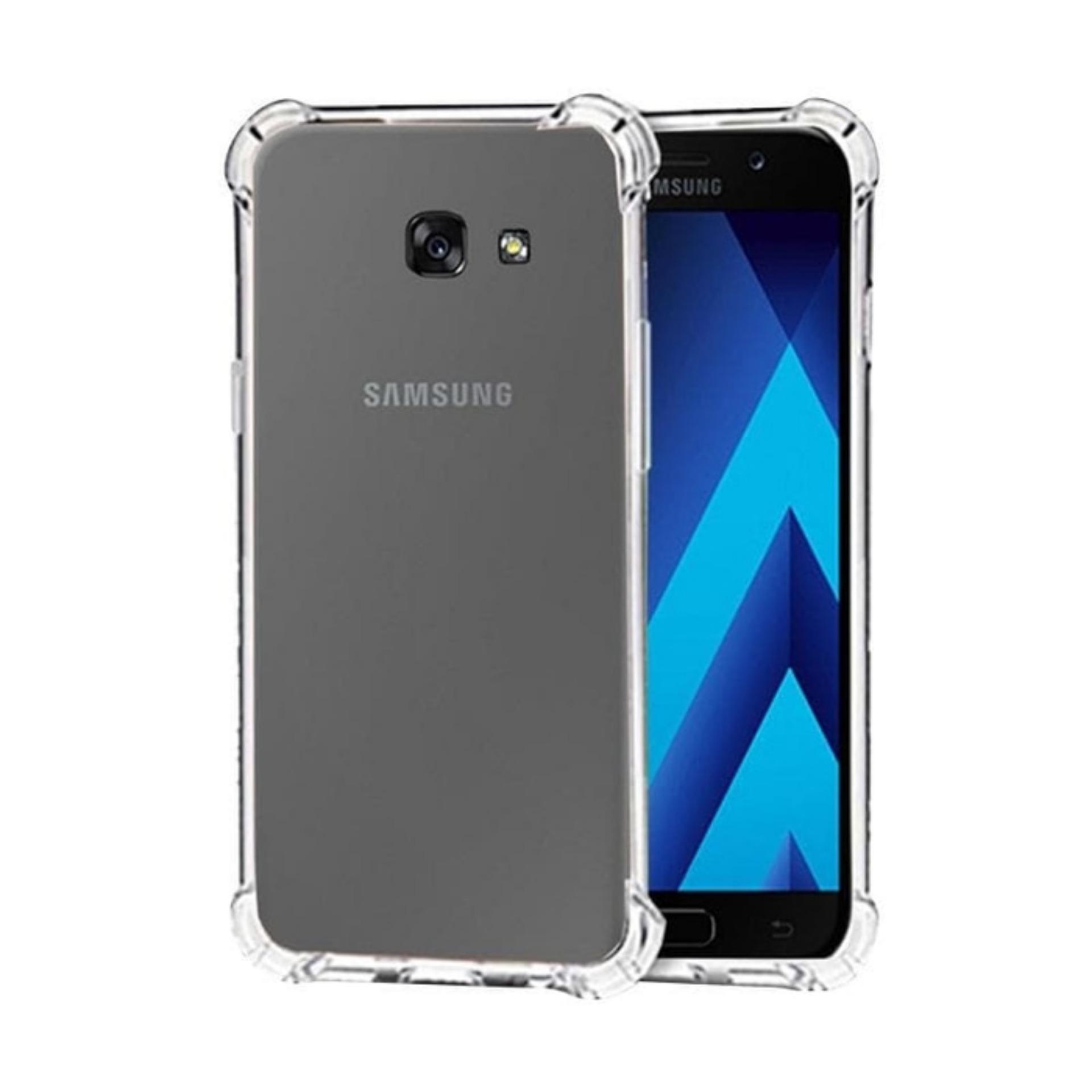 Case Michellisto Samsung A310 A3 2016 Anti Crack Shock Case Back Cover TPU Silicone fuze Clear