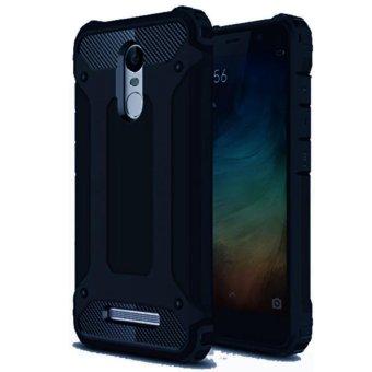 BELI SEKARANG Case Rugged Ultra Capsule For Xiaomi Redmi Note 4 Hybrid Armor TPU Shockproof Anti Slip Soft Back Case Softcase Casing Hp - Biru Tua Navy Klik ...