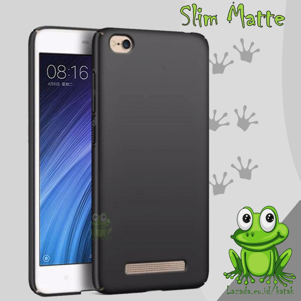 Hemat Case Slim Black Matte Xiaomi Redmi 4a Baby Skin Softcase Ultra Thin Jelly Silikon Babyskin