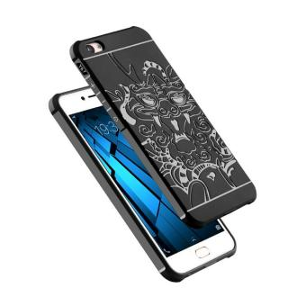 Case TPU Dragon Back Cover Silikon Original for VIVO V5 / Y67 -Black