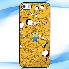 Casing Custom Adventure Time Dog Illusion IPHONE 5 5S Case Cover Hardcase
