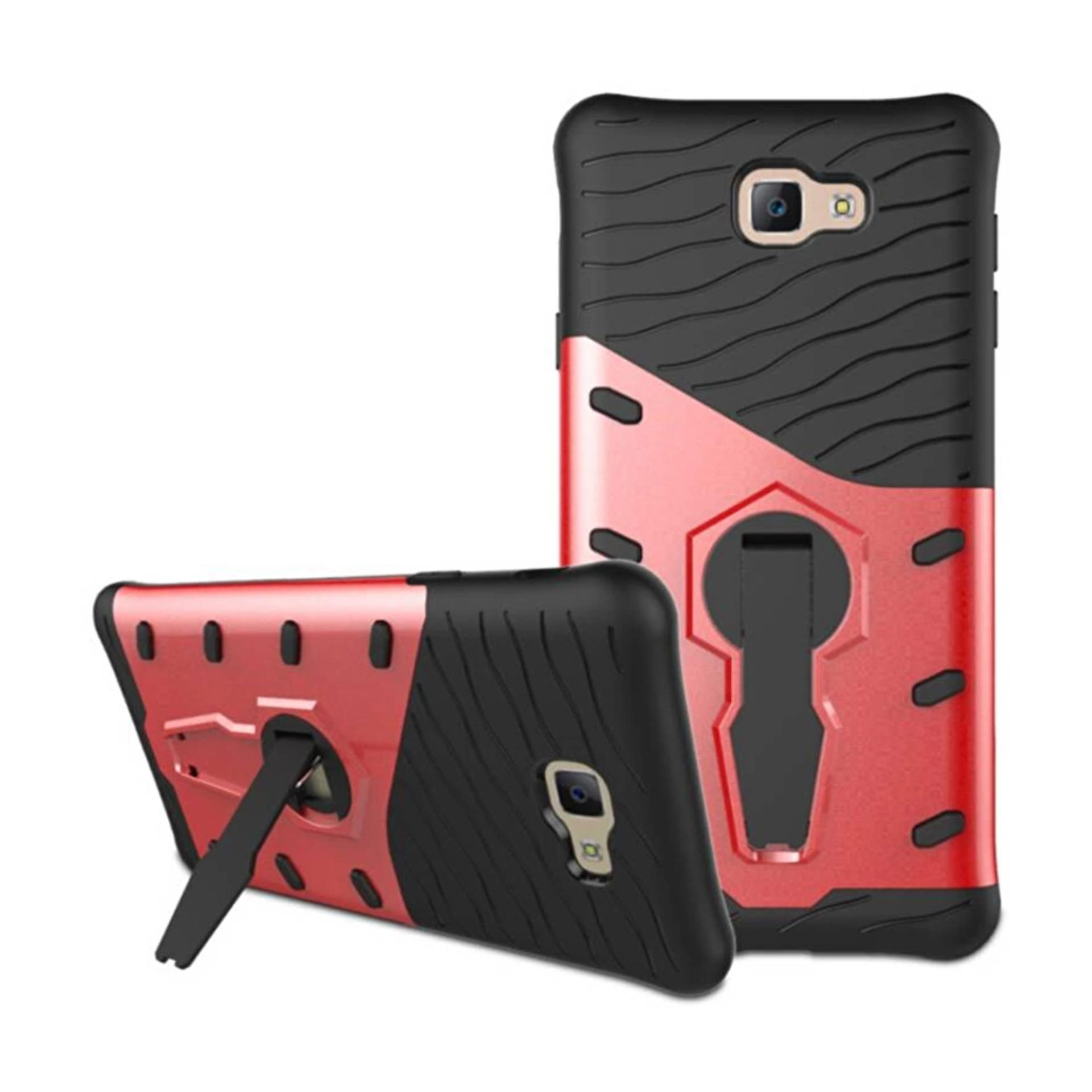 ... Casing for Samsung Galaxy J7 Prime / On7 2016 Case [360 Kickstand Holder] PC ...