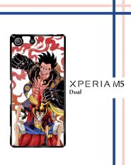 Casing HARDCASE untuk hp Sony Xperia M5 Dual one piece luffy gear 4 Q0126