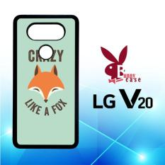 Casing LG V20 Custom Hardcase HP Crazy Fox E0112