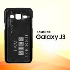 Casing Untuk Samsung Galaxy J3 2015 Benedict Sherlock Wallpaper Movies E1117