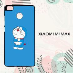 Casing Xiaomi Mi Max Custom Hardcase HP Doraemon Simple Blue 3 L0134