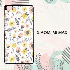Casing Xiaomi Mi Max Custom Hardcase HP Flower Background 3 L0145