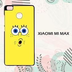 Casing Xiaomi Mi Max Custom Hardcase HP Spongebob Squarepants Face 3 L0269