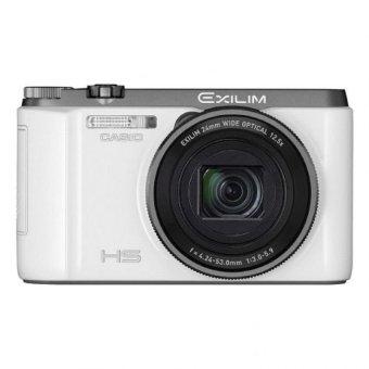 Casio Exilim EX-ZR1100 16.1 MP White + 16GB Memory Card + Case + Screen Protector