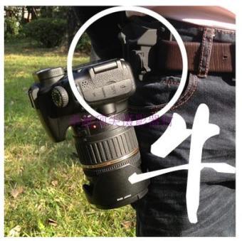 Cekatan slr kamera pinggang menggantung ikat pinggang gesper pinggang gesper