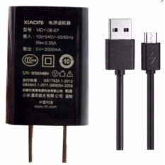 Charger For Xiaomi Redmi Note Micro USB 2A Charger - HITAM - bisa untuk Samsung j2 prima j1 ace grand redmi note 3 redmi note 4 oppo f3 oppo neo 5 neo 7 f1s f5