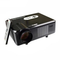 Cheerlux CL720 LED Projector Portable HD Proyektor 3000 Lumens - Hitam