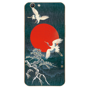 REVIEW Chinese-style oppoa59a37 cool hair lanyard phone case silicone case TERPOPULER