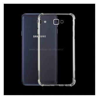 City Acc Softcase Anti Crack Anti Shock for Samsung Galaxy On7 2016/ J7 Prime - Clear