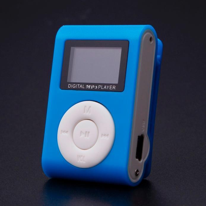 CocolMax Mini USB Clip MP3 Player LCD Screen Support 32GB Micro SDTF Card .