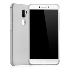 COCOSE Silicone Soft Rubber Slim Back Case for Coolpad Cool1/1C(Grey) -