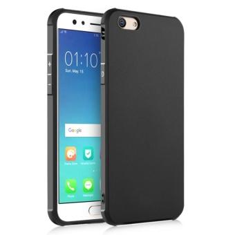 COCOSE Silicone Soft Rubber Slim Back Case for OPPO F3(Black) - intl